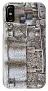 Mechanics Of Landing Gear IPhone Case