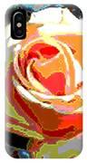 Medallion Rose IPhone Case