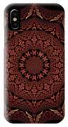 Medicine Wheel Dragonspur Fractal K12-4 IPhone Case