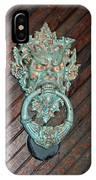 Medieval Door Knocker - Hammond Castle IPhone Case