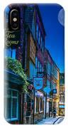 Medieval Street In York Uk IPhone X Case