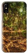 Medina River Cypress Trees IPhone Case