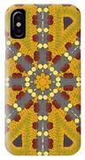 Meditating On Life - Mandala IPhone Case