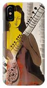 Meditation With Music  IPhone Case