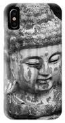 Meditation Bw IPhone Case
