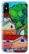 Mediterranean Roofs 1 2 3 IPhone Case