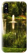 Meet Me By The Fountain IPhone Case