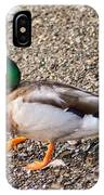 Meet Mr. Quack - A Mallard Duck IPhone Case