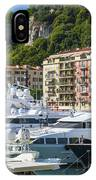 Mega Yachts In Port Of Nice France IPhone Case