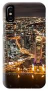 Melbourne At Night Vi IPhone Case