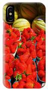 Melons And Strawberries IPhone Case