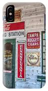 Mel's Filling Station IPhone Case