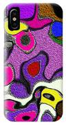 Melted Rubiks Cube 2 IPhone Case