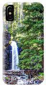 Memorial Falls In Montana IPhone Case