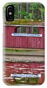 Memorytown Kissing Bridge IPhone Case
