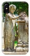 Memphis Elmwood Cemetery Monument - Cassie Hill IPhone Case