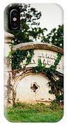 Memphis Elmwood Cemetery - Ayres Family Vault IPhone Case