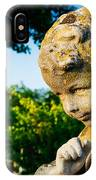 Memphis Elmwood Cemetery - Boy Angel IPhone Case