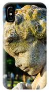 Memphis Elmwood Cemetery - Boy Angel Vertical IPhone Case