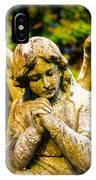 Memphis Elmwood Cemetery - Praying Angel IPhone Case