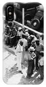 Memphis Unemployed, 1938 IPhone Case