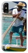 Men In A Boat IPhone Case