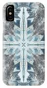 Mendenhall Glacier Cross IPhone Case