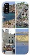 Menorca Collage 02 - Labelled IPhone Case
