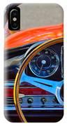 Mercedes-benz 300 Sl Steering Wheel Emblem IPhone Case