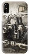 Mercedes Benz Vintage IPhone Case