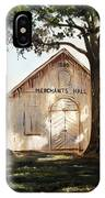 Merchants Hall IPhone Case