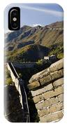 Merlon View Of The Great Wall 1037 IPhone Case