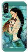 Mermaid Mother And Child IPhone Case