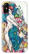 Mermaid Warrior IPhone Case