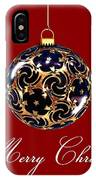 Merry Christmas Bauble IPhone Case
