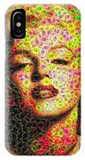 Marilyn - Colored Diamonds IPhone Case