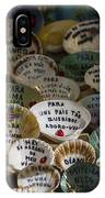 Messages On Shells IPhone Case