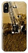 Metal Cranes On The Delta IPhone Case