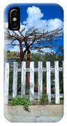 Metal Art Tree Bisbee IPhone Case