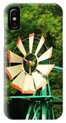 Metal Windmill IPhone Case