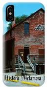 Metamora Grist Mill IPhone Case