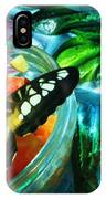Metamorphosis Turning A Butterfly Into A Picasso IPhone Case