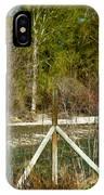 Methow River Springtime IPhone Case