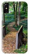 Metroparks Pathway IPhone Case