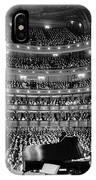 Metropolitan Opera House 1937 IPhone Case