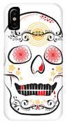 Mexican Sugar Skull For Dia De Los Muertos IPhone Case