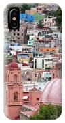 Mexico, Guanajuato, View Of Guanajuato IPhone Case