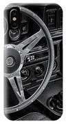 Mg Midget Interior Bw IPhone Case