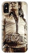 Michael Jackson Artwork 2 IPhone Case