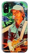 Michael Kang At Horning's Hideout IPhone Case